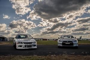 GT-R & EVO